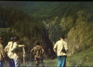 Внизу каньон реки Чуя