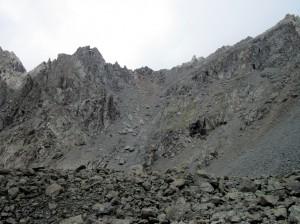 Вот такой перевал Высокий со стороны Курайской степи