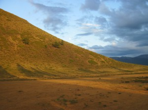 В долине Кзылташки солнечно...