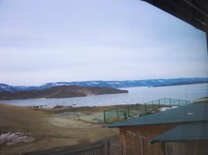 А из нашего окна гладь Байкальская видна...