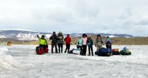 Последнее групповое фото на льду ( в этом походе)