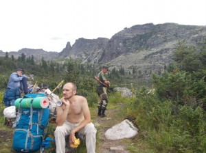 Порядок в Национальном Парке Ергаки охраняют серьезные люди