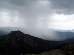 Приближается дождь