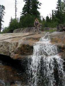 Водопад на ручье Тайгишонок